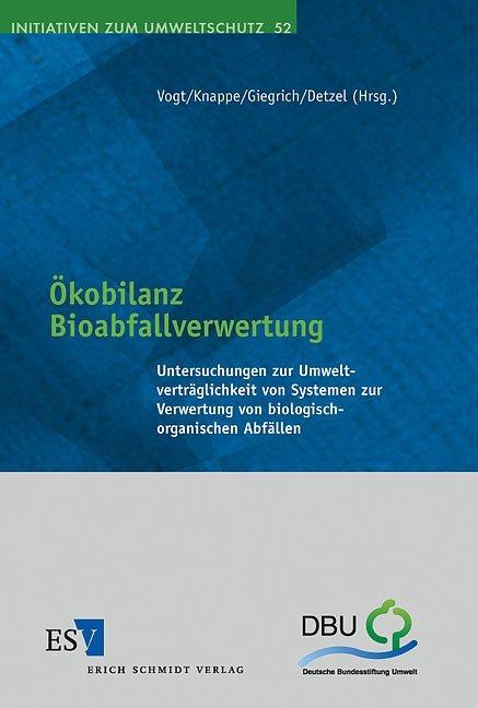 Ökobilanz Bioabfallverwertung als Buch