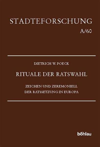 Rituale der Ratswahl als Buch