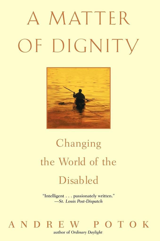 A Matter of Dignity als Taschenbuch