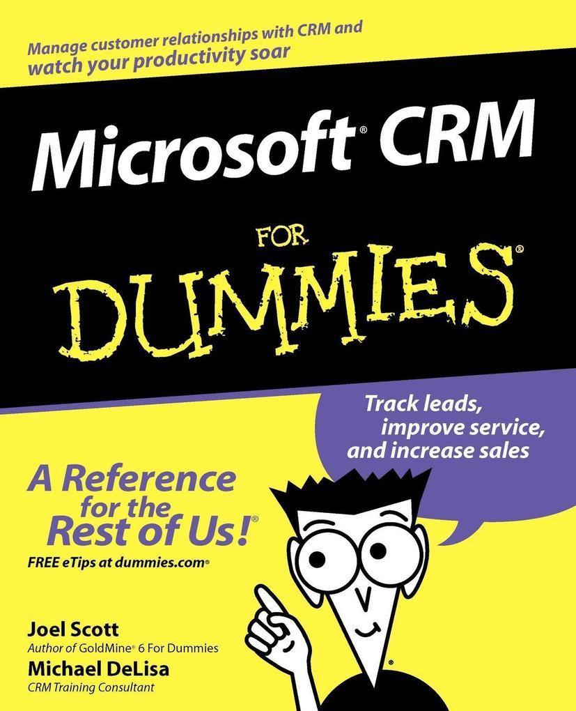 Microsoft CRM for Dummies als Buch