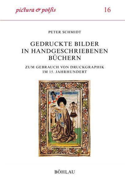 Gedruckte Bilder in handgeschriebenen Büchern als Buch