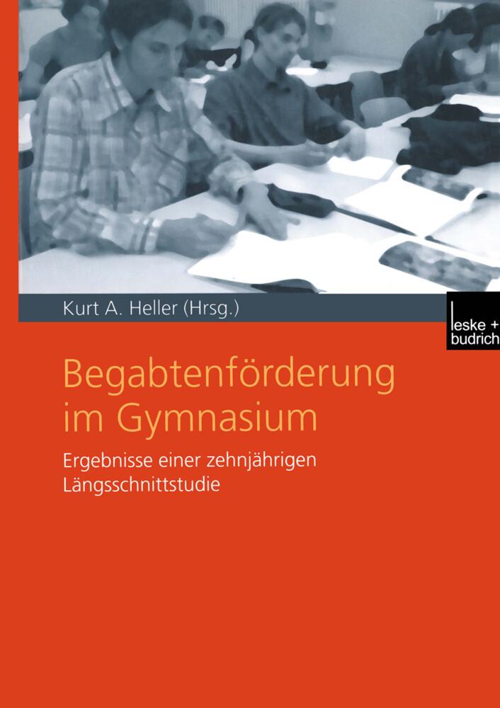 Begabtenförderung im Gymnasium als Buch