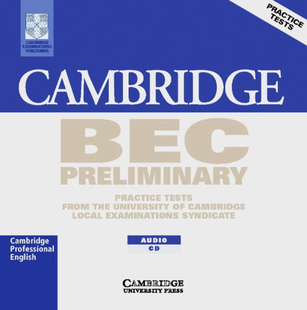 Cambridge BEC. Preliminary. CD als Hörbuch