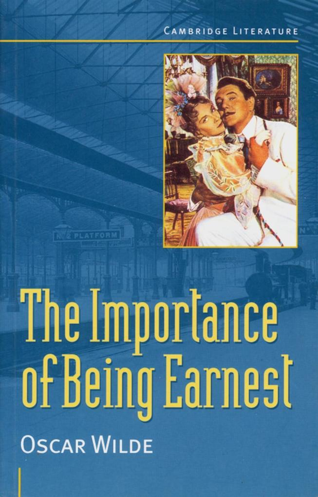 The Importance of Being Earnest. Mit Materialien als Buch
