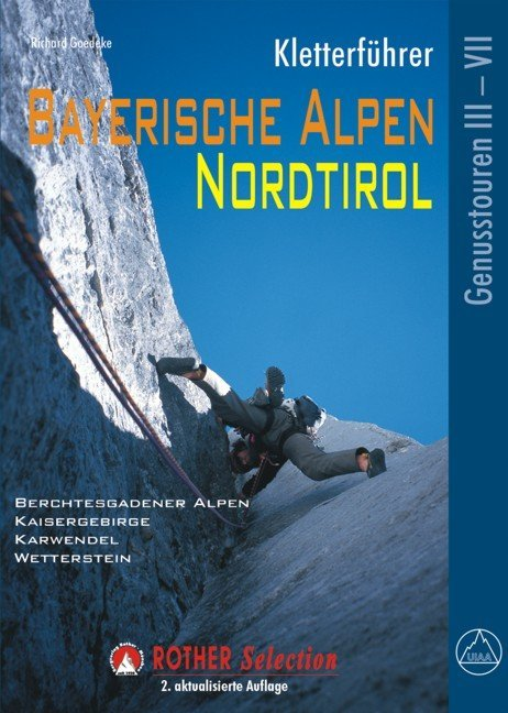 Kletterführer Bayerische Alpen, Nordtirol als Buch