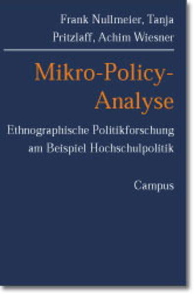 Mikro-Policy-Analyse als Buch