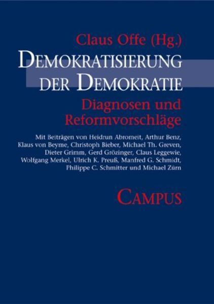 Demokratisierung der Demokratie als Buch