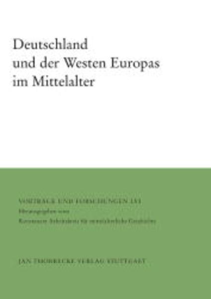 Deutschland und der Westen Europas im Mittelalter als Buch