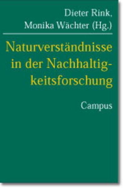 Naturverständnisse in der Nachhaltigkeitsforschung als Buch