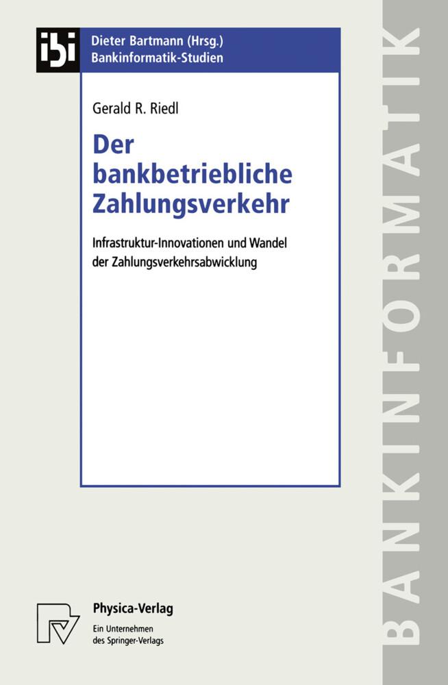 Der bankbetriebliche Zahlungsverkehr als Buch