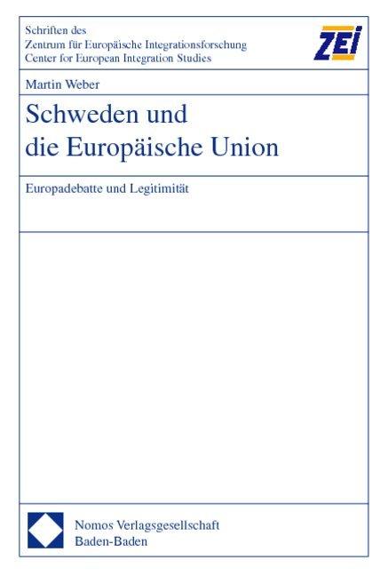 Schweden und die Europäische Union als Buch