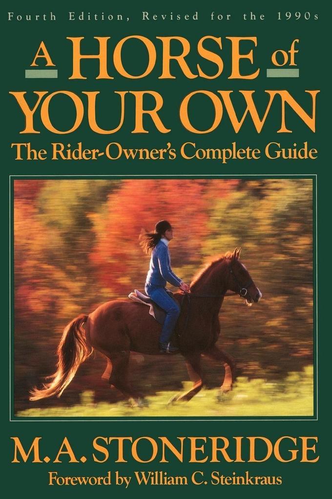 Horse of Your Own, A als Taschenbuch