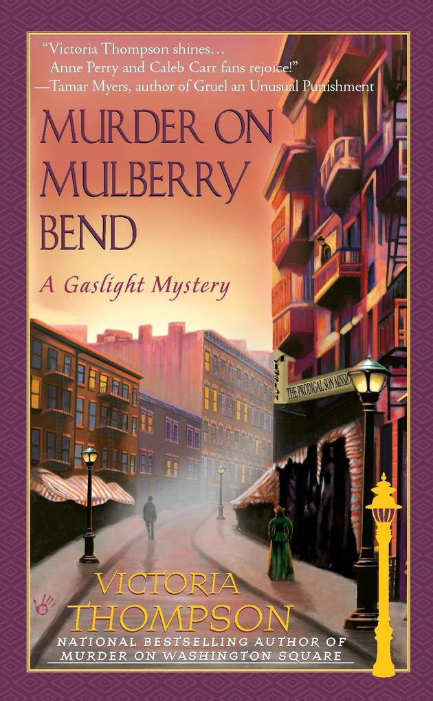 Murder on Mulberry Bend: A Gaslight Mystery als Taschenbuch