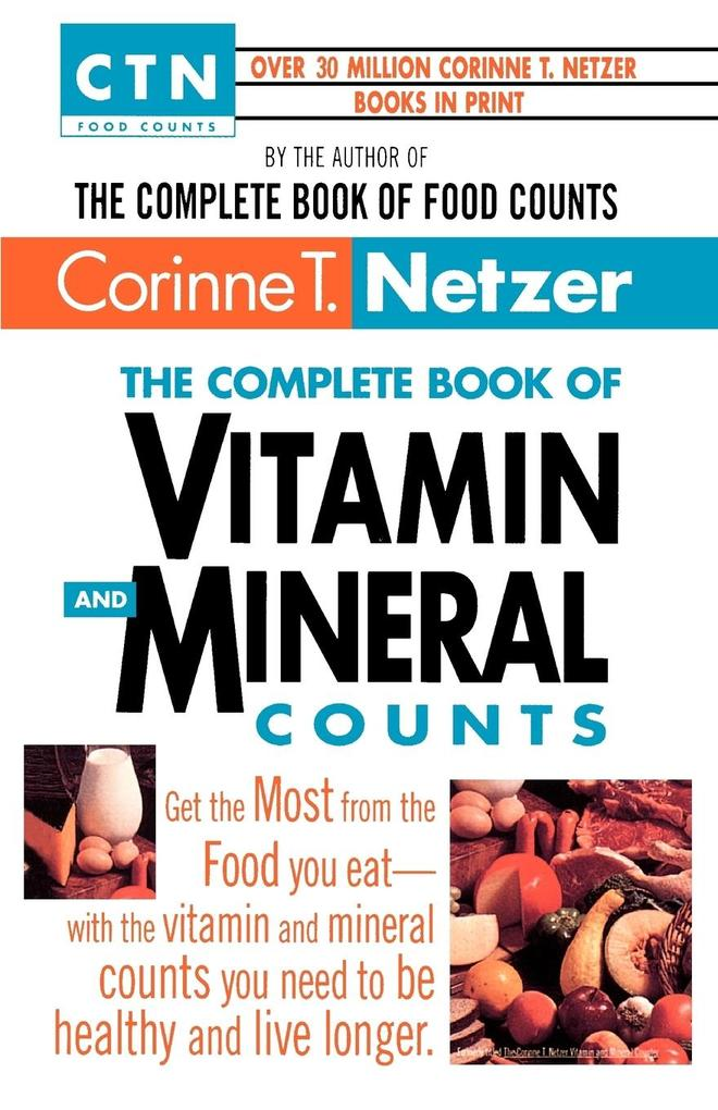 Complete Vitamin and Mineral Counts als Taschenbuch