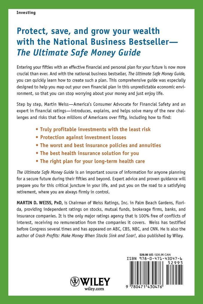 The Ultimate Safe Money Guide als Taschenbuch