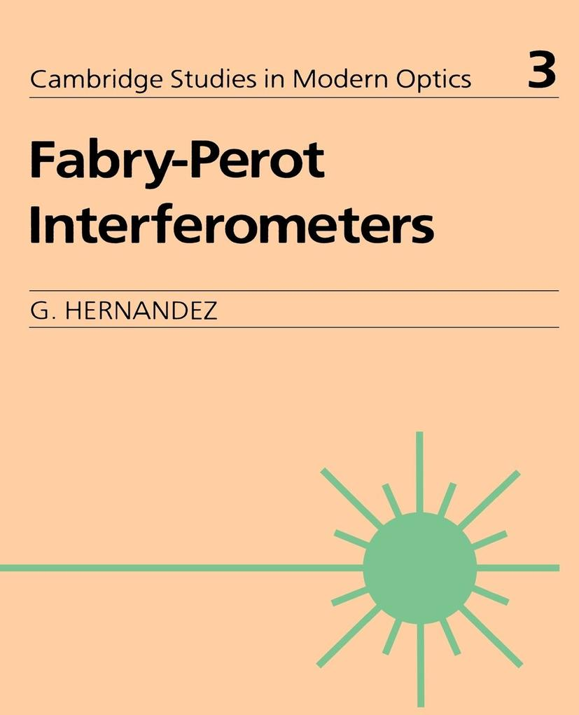 Fabry-Perot Interferometers als Buch