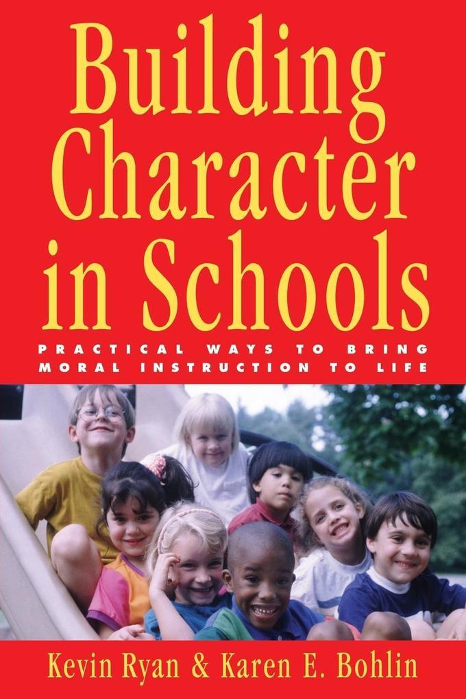 Building Character in Schools als Taschenbuch