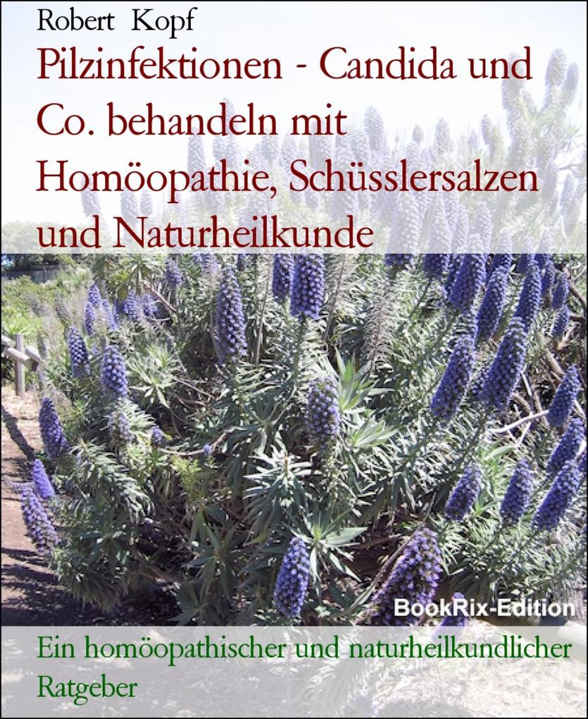 Pilzerkrankungen, Pilzinfektionen - Behandlung mit Homöopathie, Schüsslersalzen (Biochemie) und Naturheilkunde als eBook