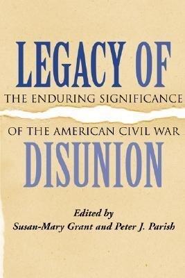 Legacy of Disunion als Buch