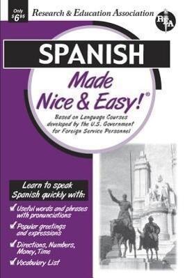 Spanish Made Nice & Easy als Taschenbuch