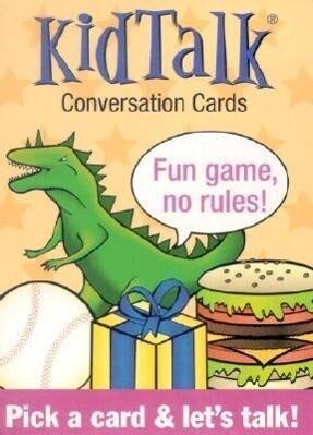 Kidtalk Conversation Cards als Spielwaren