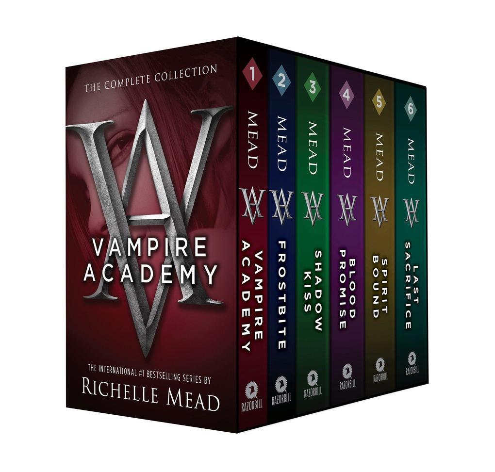 Vampire Academy Box Set 1-6 als Taschenbuch von Richelle Mead