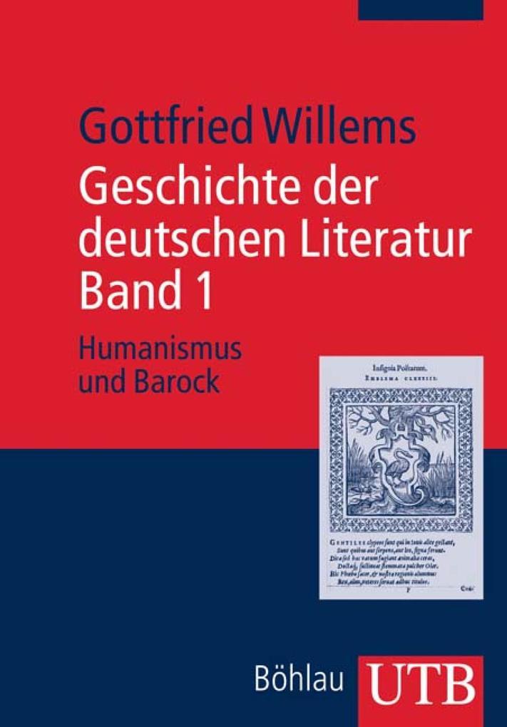 Geschichte der deutschen Literatur. Band 1 als eBook