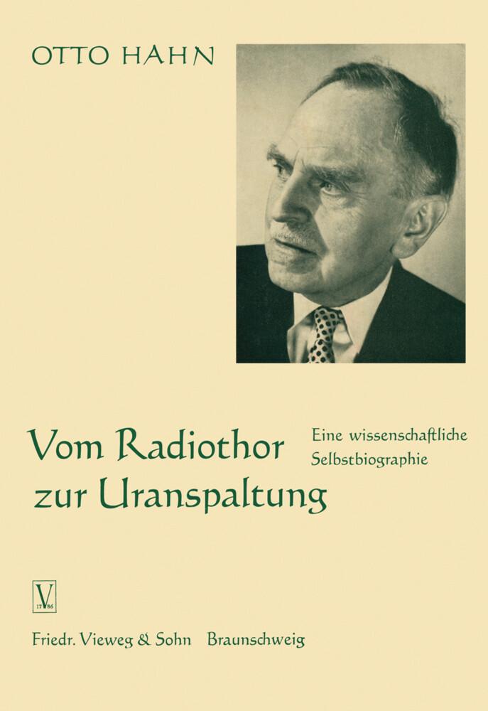 Vom Radiothor zur Uranspaltung als Buch