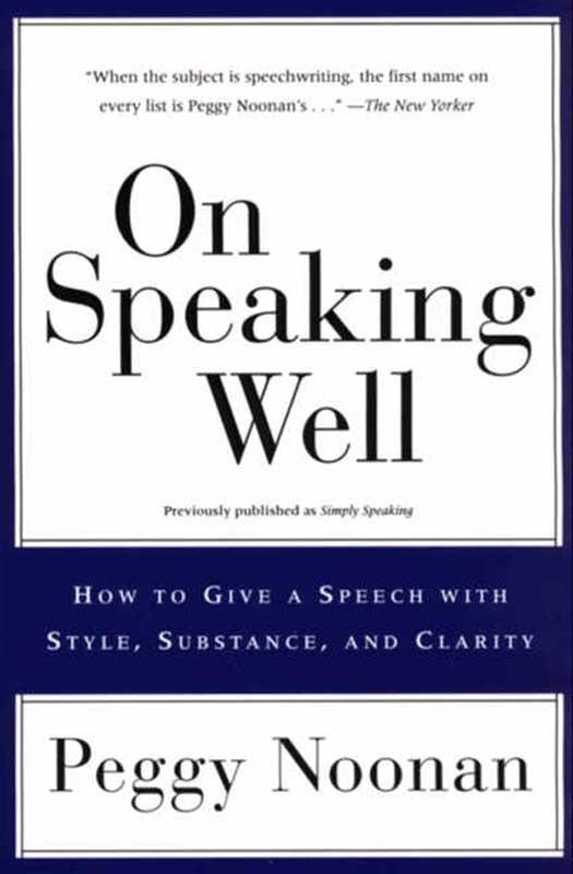 On Speaking Well als eBook epub