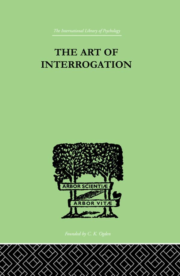 The Art Of Interrogation als eBook pdf