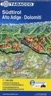 Tabacco Straßenkarte Südtirol / Alto Adige / Dolomiti 1 : 160 000