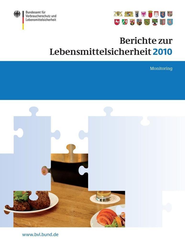 Berichte zur Lebensmittelsicherheit 2010 als eBook