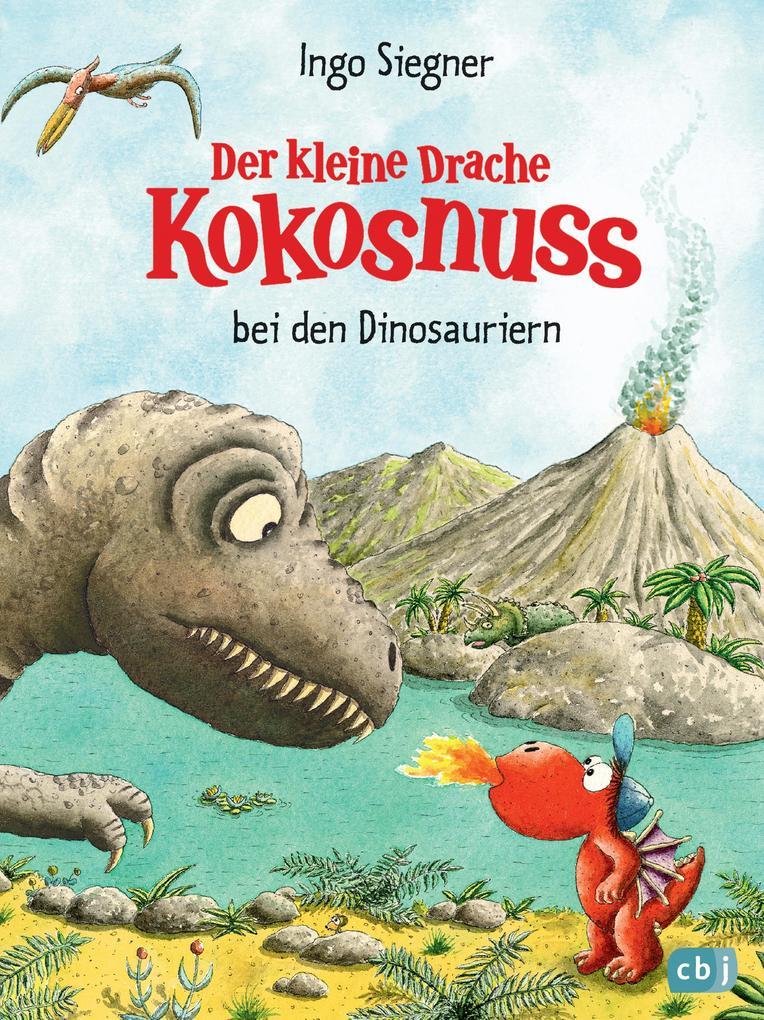 Der kleine Drache Kokosnuss bei den Dinosauriern als eBook
