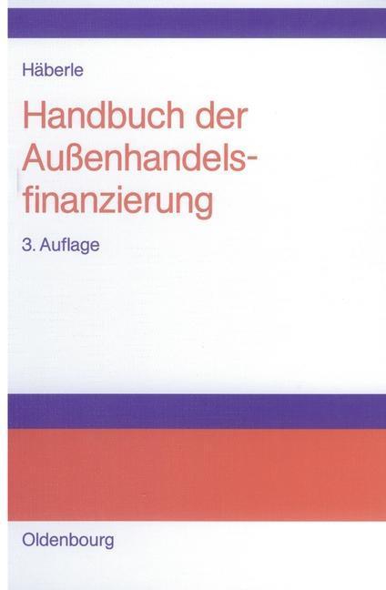 Handbuch der Außenhandelsfinanzierung als eBook