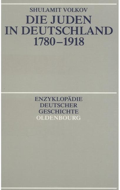 Die Juden in Deutschland 1780-1918 als eBook