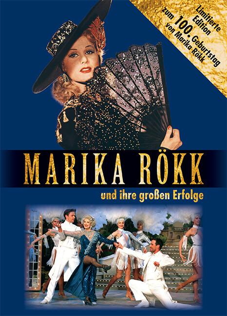 MARIKA RÖKK und ihre großen Erfolge als Buch von Hartmut Harfensteller, Ute Mayer, Christina Drewing