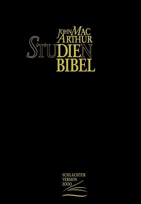 John MacArthur Studienbibel (Rindsleder-Ausgabe) als Buch