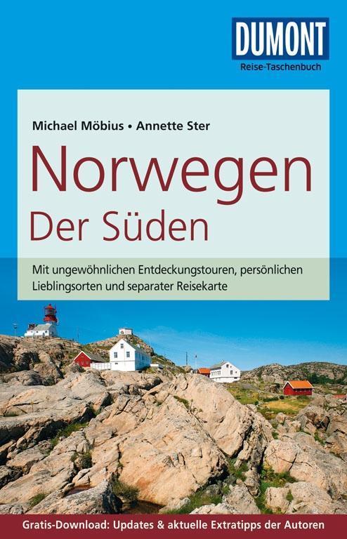 DuMont Reise-Taschenbuch Reiseführer Norwegen, Der Süden als Taschenbuch von Michael Möbius, Annette Ster
