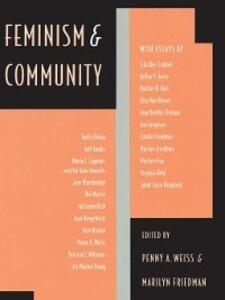 Feminism and Community als eBook von