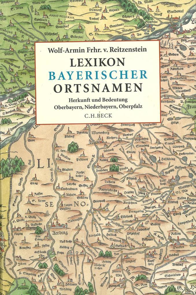 Lexikon bayerischer Ortsnamen als eBook pdf