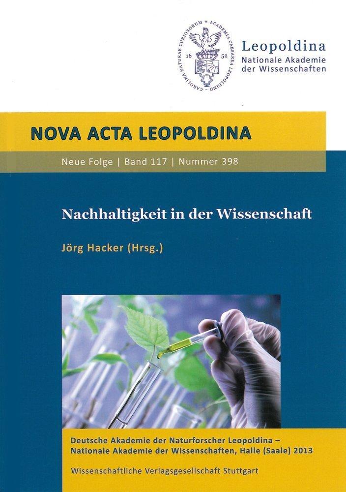 Nachhaltigkeit in der Wissenschaft als Buch von