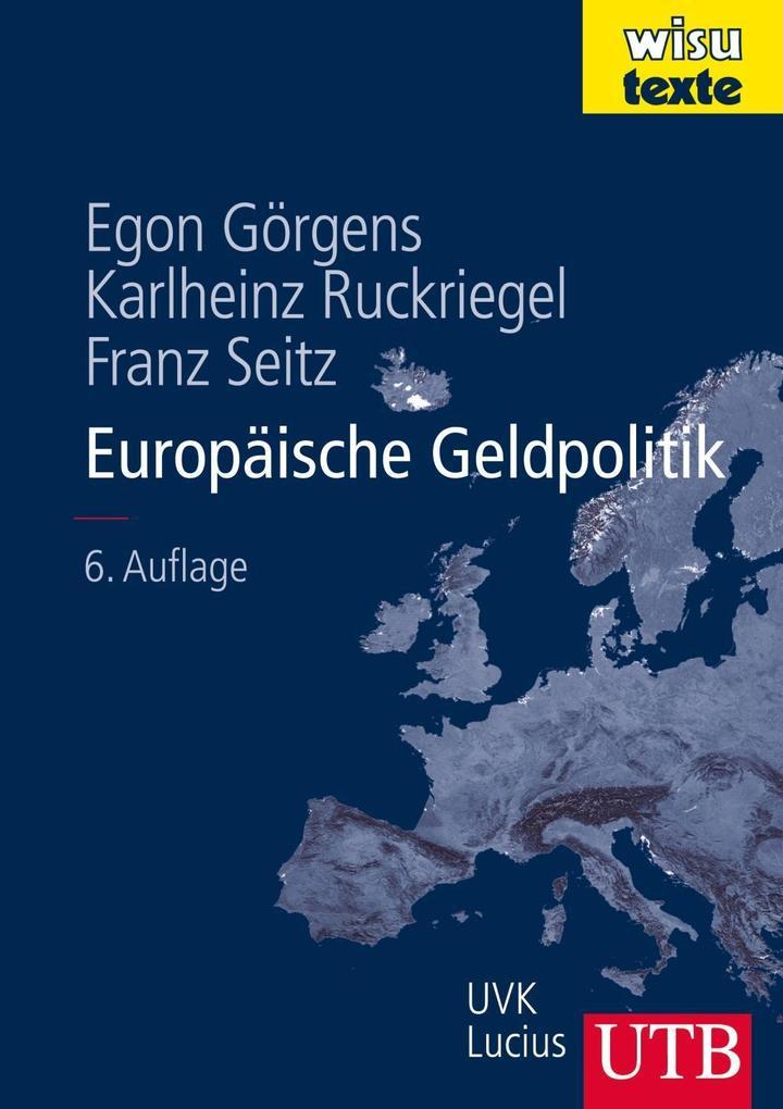 Europäische Geldpolitik als Buch