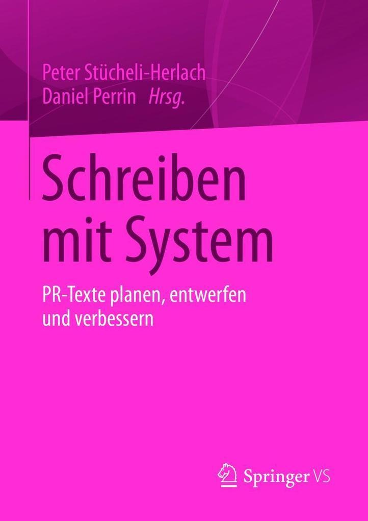 Schreiben mit System als eBook