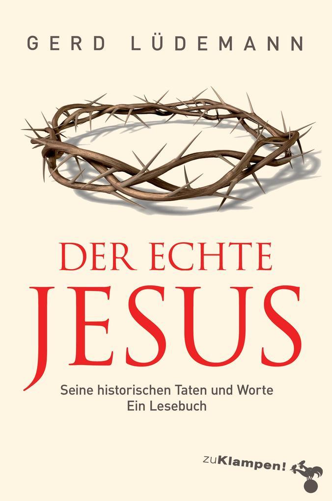 Der echte Jesus als Buch