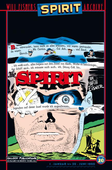 Will Eisners Spirit Archive 20 als Buch