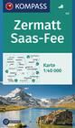 Zermatt - Saas Fee 1 : 40 000