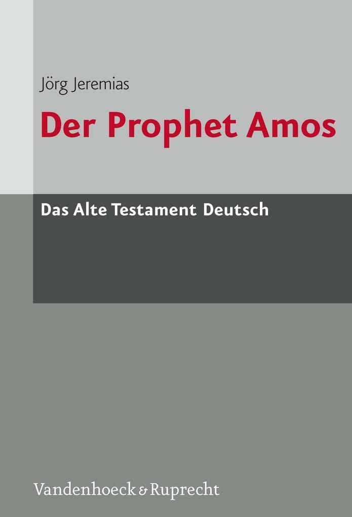 Der Prophet Amos als eBook
