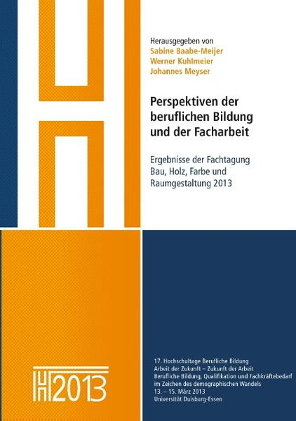 Perspektiven der beruflichen Bildung und der Facharbeit als Buch (kartoniert)