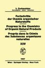 Progress in the Chemistry of Organic Natural Products / Fortschritte der Chemie Organischer Naturstoffe / Progrès dans la Chimie des Substances Organiques Naturelles