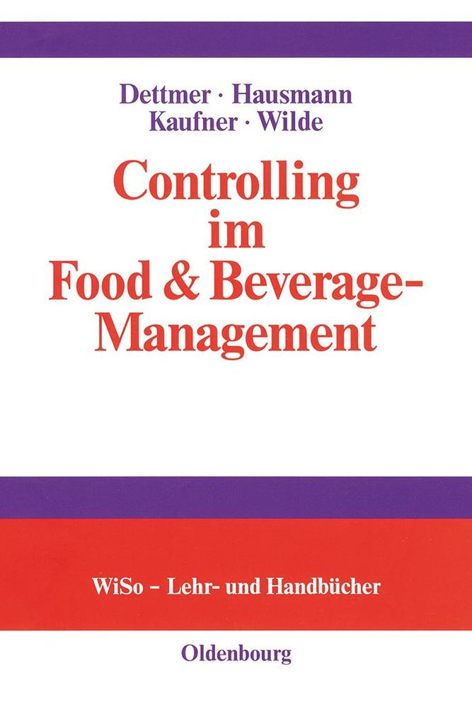 Controlling im Food & Beverage-Management als eBook pdf
